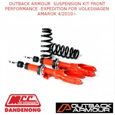 OUTBACK ARMOUR  SUSPENSION KIT FRONT EXPD FOR VOLKSWAGEN AMAROK 4/2010+