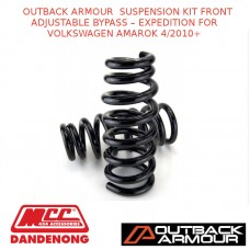 OUTBACK ARMOUR  SUSPENSION KIT FRONT ADJ BYPASS EXPD FOR VOLKSWAGEN AMAROK 4/10+