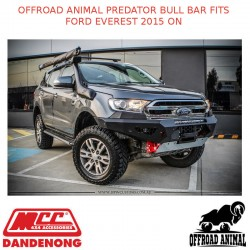 OFFROAD ANIMAL PREDATOR BULL BAR FITS FORD EVEREST 2015 ON