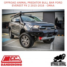 OFFROAD ANIMAL PREDATOR BULL BAR FORD EVEREST PX 2 2015-2018 - OMAA