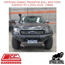 OFFROAD ANIMAL PREDATOR BULL BAR FORD EVEREST PX 2 2015-2018 - OMNA