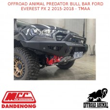 OFFROAD ANIMAL PREDATOR BULL BAR FORD EVEREST PX 2 2015-2018 - TMAA