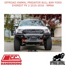 OFFROAD ANIMAL PREDATOR BULL BAR FORD EVEREST PX 2 2015-2018 - NMNA