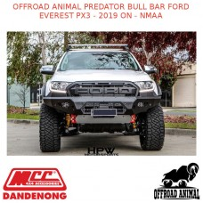 OFFROAD ANIMAL PREDATOR BULL BAR FORD EVEREST PX3 - 2019 ON - NMAA