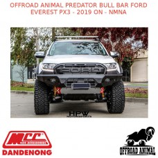 OFFROAD ANIMAL PREDATOR BULL BAR FORD EVEREST PX3 - 2019 ON - NMNA