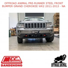OFFROAD ANIMAL PRE-RUNNER STEEL FRONT BUMPER GRAND CHEROKEE WK2 2011-2013 - NA