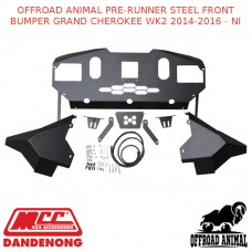 OFFROAD ANIMAL PRE-RUNNER STEEL FRONT BUMPER GRAND CHEROKEE WK2 2014-2016 - NI