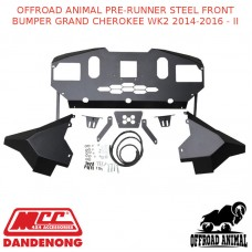 OFFROAD ANIMAL PRE-RUNNER STEEL FRONT BUMPER GRAND CHEROKEE WK2 2014-2016 - II