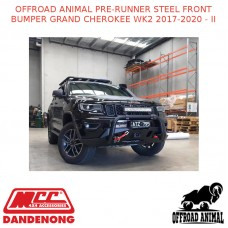 OFFROAD ANIMAL PRE-RUNNER STEEL FRONT BUMPER GRAND CHEROKEE WK2 2017-2020 - II