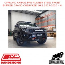 OFFROAD ANIMAL PRE-RUNNER STEEL FRONT BUMPER GRAND CHEROKEE WK2 2017-2020 - NI