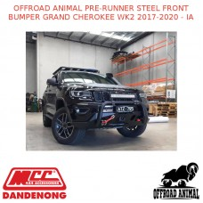 OFFROAD ANIMAL PRE-RUNNER STEEL FRONT BUMPER GRAND CHEROKEE WK2 2017-2020 - IA