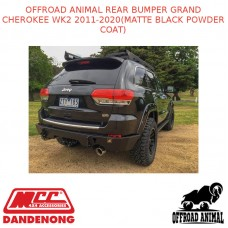 OFFROAD ANIMAL REAR BUMPER GRAND CHEROKEE WK2 2011-2020(MATTE BLACK POWDER COAT)