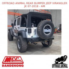 OFFROAD ANIMAL REAR BUMPER JEEP WRANGLER JK 07-2018 - AM