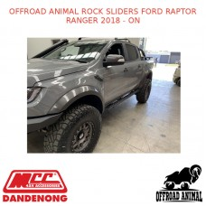 OFFROAD ANIMAL ROCK SLIDERS FORD RAPTOR RANGER 2018 - ON