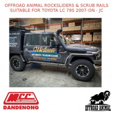 OFFROAD ANIMAL ROCKSLIDERS & SCRUB RAILS SUITABLE FOR TOYOTA LC 79S 2007-ON - JC