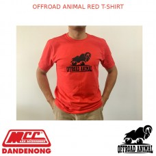 OFFROAD ANIMAL RED T-SHIRT