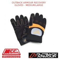 OUTBACK ARMOUR RECOVERY GLOVES - MEDIUM/LARGE