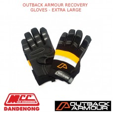OUTBACK ARMOUR RECOVERY GLOVES - EXTRA LARGE