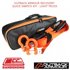 OUTBACK ARMOUR RECOVERY QUICK SNATCH KIT - LIGHT TRUCK