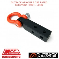 OUTBACK ARMOUR 5.75T RATED RECOVERY HITCH - LONG