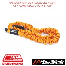 OUTBACK ARMOUR RECOVERY 4T/6M OFF-ROAD RECOIL TOW STRAP