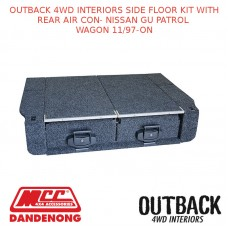 OUTBACK 4WD INTERIOR SIDE FLOOR KIT REAR AIR CON NISSAN GU PATROL WAGON 11/97-ON