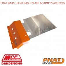 PHAT BARS HILUX BASH PLATE & SUMP PLATE SETS