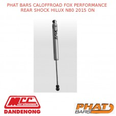 PHAT BARS CALOFFROAD FOX PERFORMANCE REAR SHOCK HILUX N80 2015 ON