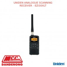 UNIDEN ANALOGUE SCANNING RECEIVER - EZI30XLT