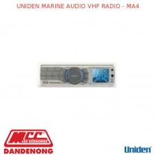 UNIDEN MARINE AUDIO VHF RADIO - MA4