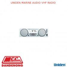 UNIDEN MARINE AUDIO VHF RADIO - MA6