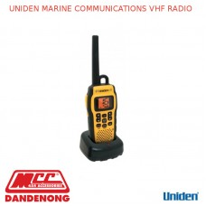 UNIDEN MARINE COMMUNICATIONS VHF RADIO - MHS050