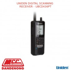 UNIDEN DIGITAL SCANNING RECEIVER - UBCD436PT