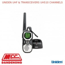 UNIDEN UHF & TRANSCEIVERS UH510 CHANNELS