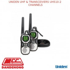 UNIDEN UHF & TRANSCEIVERS UH510-2 CHANNELS