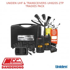 UNIDEN UHF & TRANSCEIVERS UH820S-2TP TRADIES PACK