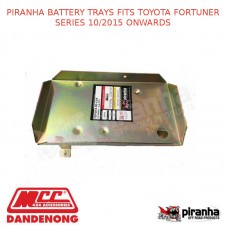 PIRANHA BATTERY TRAYS TOYOTA FORTUNER SERIES 10/2015 ONWARDS