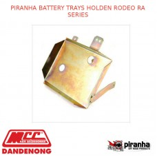 PIRANHA BATTERY TRAYS FITS HOLDEN RODEO RA SERIES
