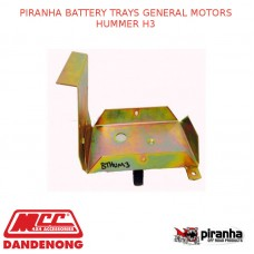 PIRANHA BATTERY TRAYS GENERAL MOTORS HUMMER H3