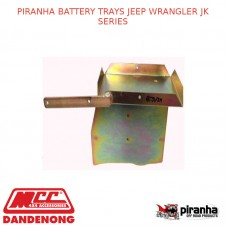 PIRANHA BATTERY TRAYS FITS JEEP WRANGLER JK SERIES