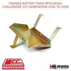 PIRANHA BATTERY TRAYS MITSUBISHI CHALLENGER 1ST GENERATION 1996 TO 2008