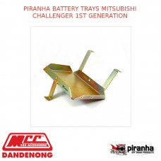 PIRANHA BATTERY TRAYS FITS MITSUBISHI CHALLENGER 1ST GENERATION