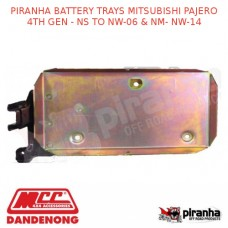 PIRANHA BATTERY TRAYS MITSUBISHI PAJERO 4TH GEN - NS TO NW-06 & NM- NW-14