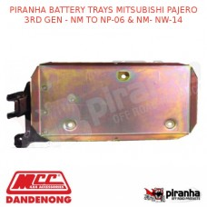 PIRANHA BATTERY TRAYS MITSUBISHI PAJERO 3RD GEN - NM TO NP-06 & NM- NW-14