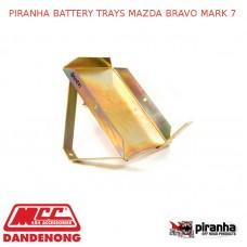 PIRANHA BATTERY TRAYS FITS MAZDA BRAVO MARK 7