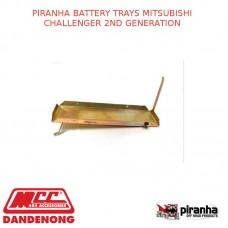 PIRANHA BATTERY TRAYS FITS MITSUBISHI CHALLENGER 2ND GENERATION