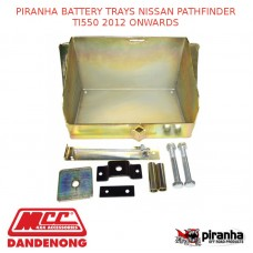 PIRANHA BATTERY TRAYS NISSAN PATHFINDER TI550 2012 ONWARDS - BTPF550-NP