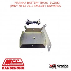 PIRANHA BATTERY TRAYS SUZUKI JIMNY MY13 2013