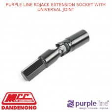 PURPLE LINE KOJACK EXTENSION SOCKET WITH UNIVERSAL JOINT