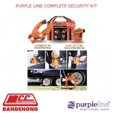PURPLE LINE COMPLETE SECURITY KIT